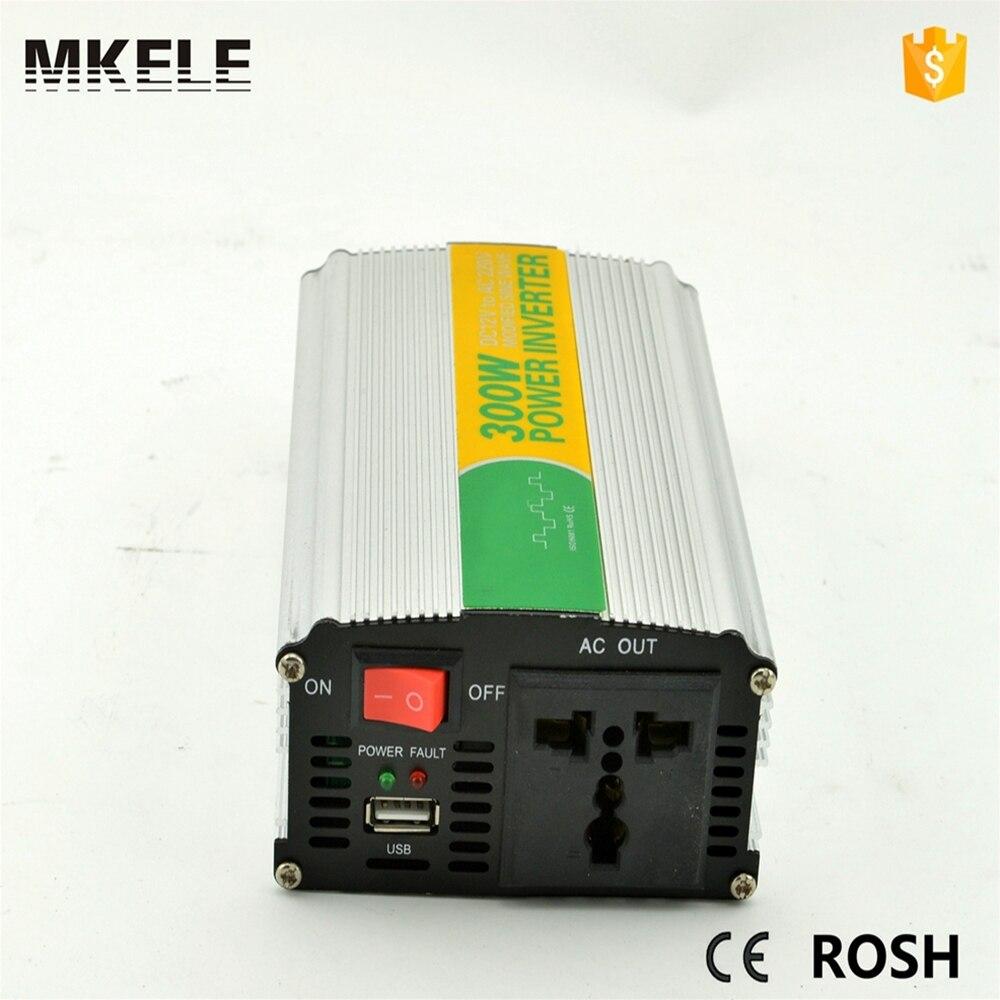 Mkm300 122g Modified Sine Wave Power Inverter Dc 12v Ac