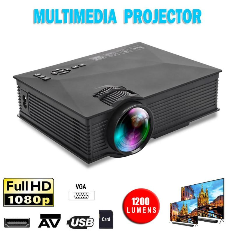 UC46 Plus Início Portátil Mini Projetor Pico 800x480 Projetor De Vídeo|Acessórios p/ projetor| |  - title=