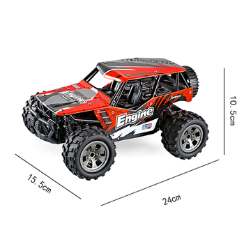 1/20 Electric RC Rock Crawler Off-Road Truck 2