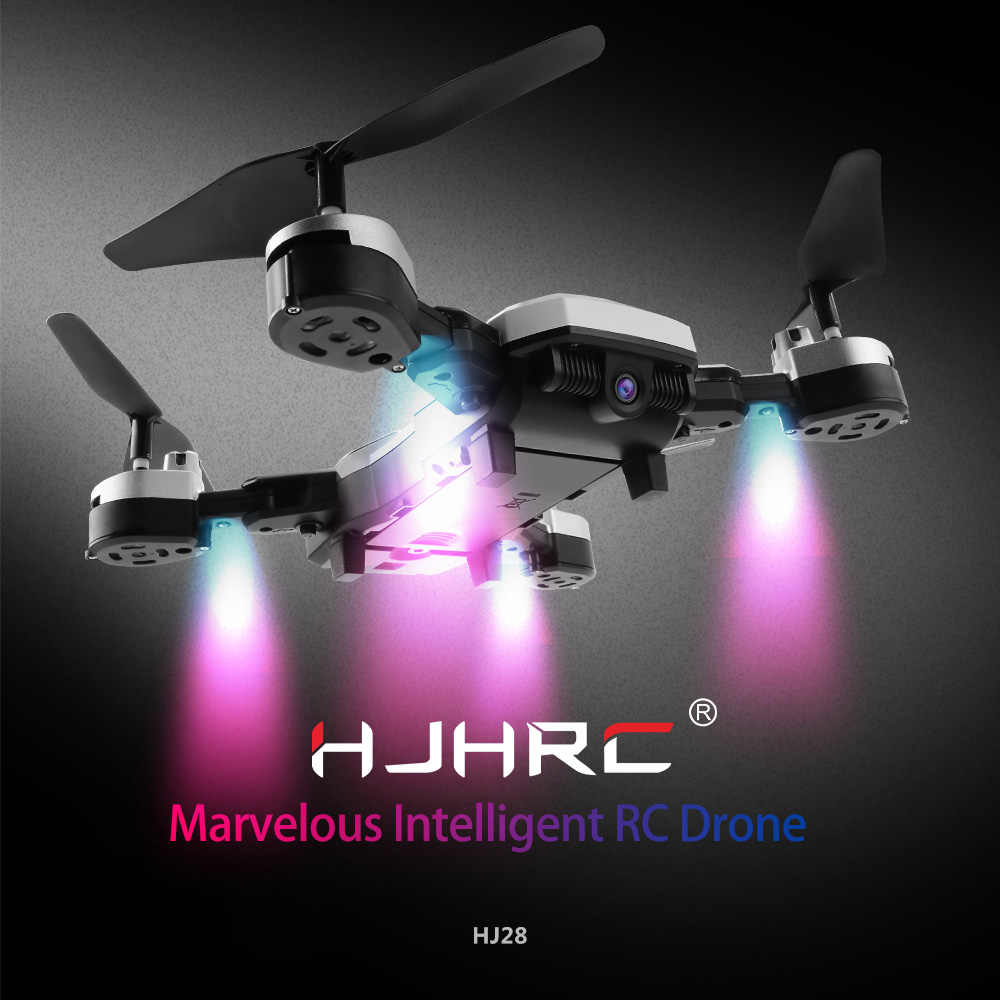 HJHRC HJ28 RC Drone with Camera 720P Wifi FPV for Christmas Gift Altitude  Hold Gesture Photo/Video Foldable RC Quadcopter