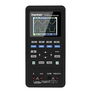 Image 2 - Hantek 3in1 Digitale Oscilloscopio + Generatore di Forme Donda + Multimetro Portatile USB 2 Canali 40mhz 70mhz Display LCD di Prova strumenti metro