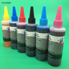 6 бутылок х 100 мл для hp 177 чернила на основе красителя для hp Photosmart D7300 D7100 D6100 C7100 C6100 C5100 8200 3100 принтера серии