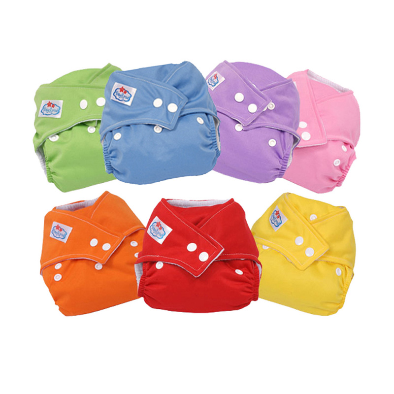 New Baby 9 colors Washable Cloth Babyland Diaper Nappy YJS Dropship in Baby Nappies from Mother Kids