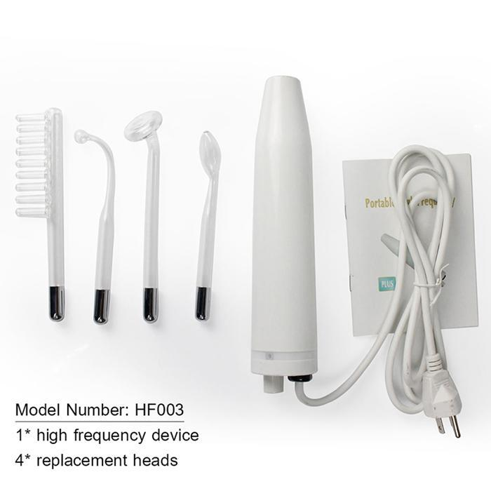 Portable Handheld High Frequency Electrotherapy Beauty Home Instrument 50 60HZ 110V/220V/240V