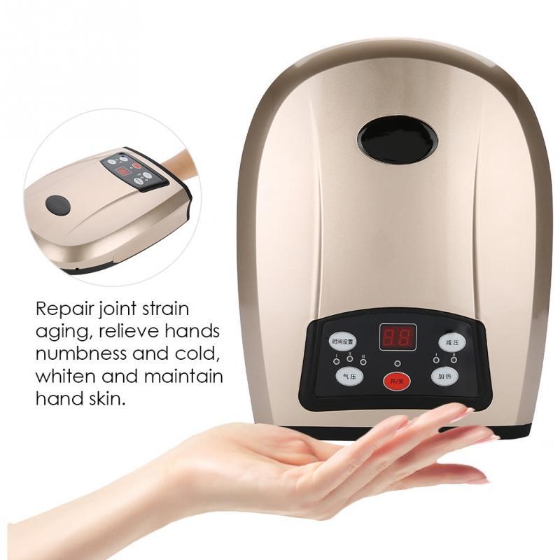 Elektryczny akupresura ręczny masażer Protector ręcznie narzędzia do pielęgnacji drętwienie ulgę w bólu pielęgnacja dłoni Relax palec Spa drętwienie narzędzia w Przyrządy do pielęgnacji skóry twarzy od Uroda i zdrowie na  Grupa 1