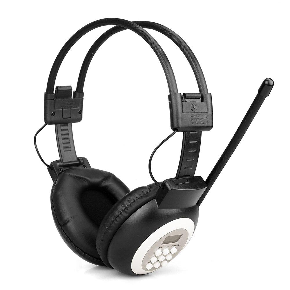 Retekess Tr101 Fm Headset Radio Empfänger Drahtlose Kopfhörer Radio Kopfhörer Empfänger Für Konferenz Gleichzeitige Interpretation Spezieller Kauf Radio