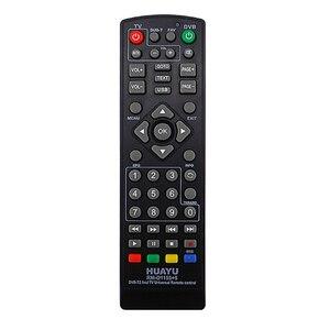 Image 3 - FULL HUAYU üniversal uyumlu Tv uzaktan kumanda aleti denetleyici Dvb T2 uzaktan Rm D1155 uydu televizyon alıcısı