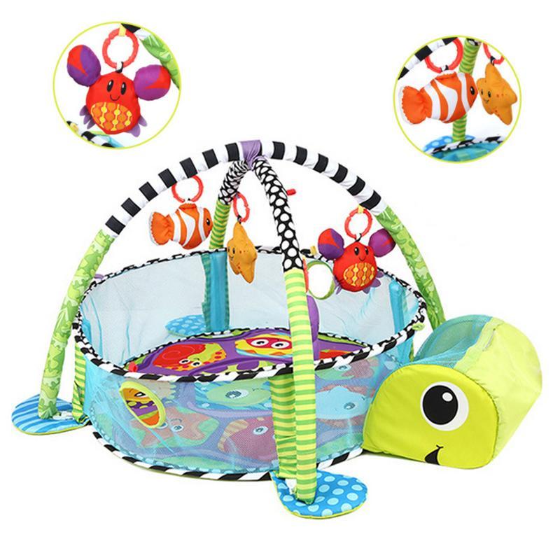 3 en 1 bébé tapis de jeu enfants tapis éducatif Puzzle tapis avec clavier de Piano mignon Animal tapis de jeu bébé Gym ramper tapis d'activité - 3