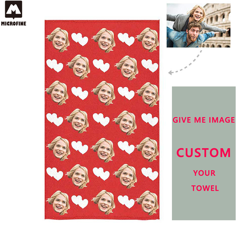 c4a8fa78f52 Custom Beach Towel Microfiber Bathroom Quick Dry Chair Blanket Gym Swim  Towel Absorbent Personalized Bath Towel Dropshipping