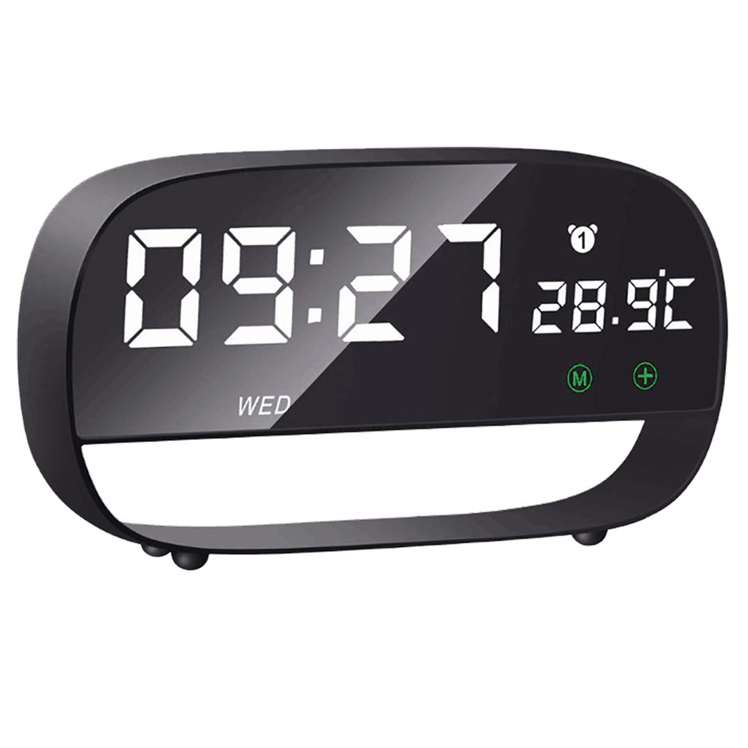 Bedside Clock Touch Based Digital Alarm Clock 5 Min