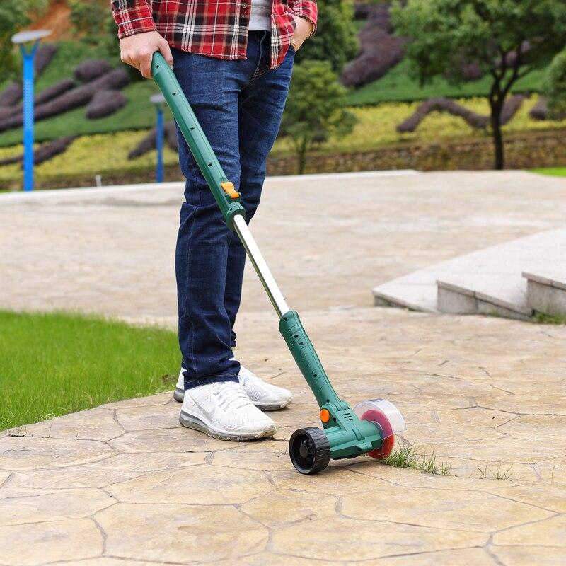 Herramientas de jardín oriental cuchillo herramientas 7,2 V Litio-Ion recargable camino limpiador de hierba ET1308 recortadora de césped podar herramienta