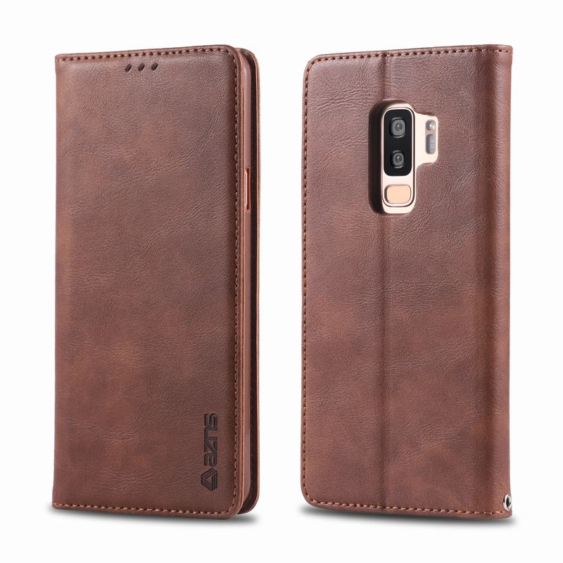 For Samsung,S9,Plus,Case,Cover,Luxury,High,Quality,Magnetic,Flip,Leather,Phone Bags,S,9,S9plus,Coque(China)