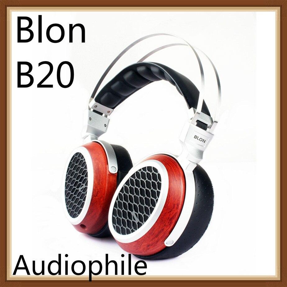 BLON Bosshifi B20 Wooden HiFi Sound Open Flat Diaphragm Music Monitor Studio Stereo Proffessional Audiophile Headphone HeadsetBLON Bosshifi B20 Wooden HiFi Sound Open Flat Diaphragm Music Monitor Studio Stereo Proffessional Audiophile Headphone Headset