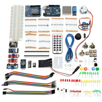 Starter Kit including Ultrasonic Sensor for UNO R3 LCD1602 Screen for Arduino for Mega2560 DIY Electronic Unit kit