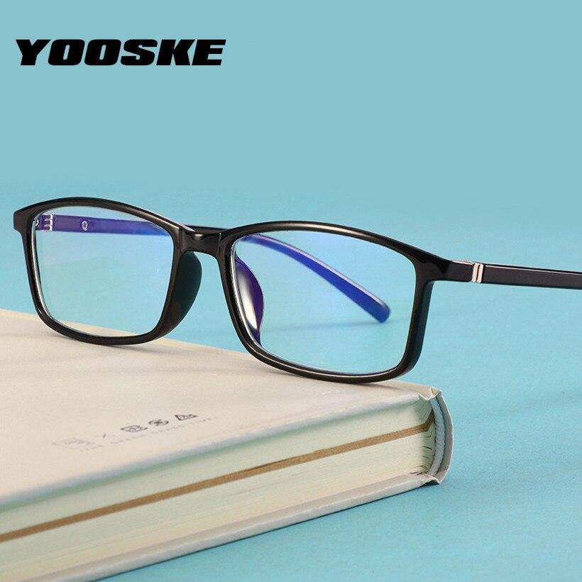 YOOSKE Anti Blue ray Radiation Blue Light Blocking Glasses Retro Eyewear Frames Women Men Computer Gaming Eyeglasses blue light blocking glasses
