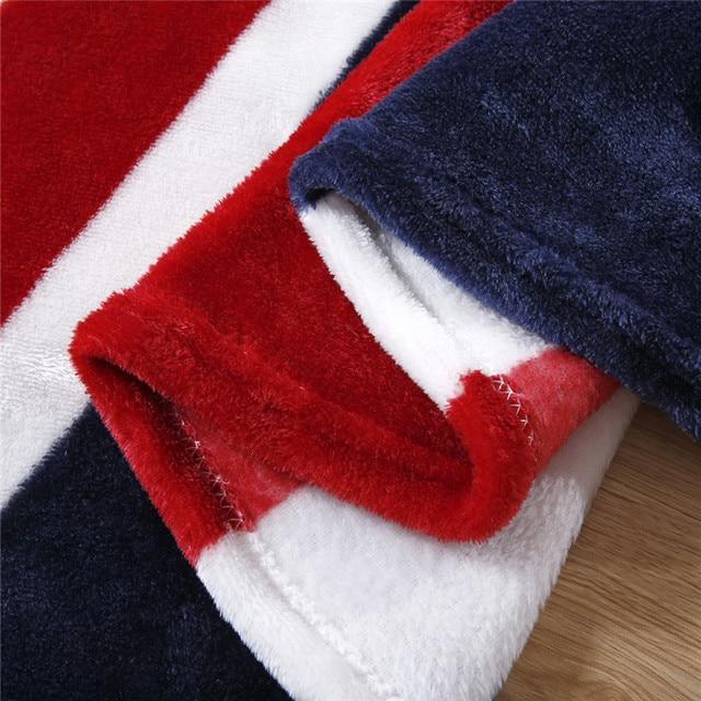 Flag Fleece Blankets 3