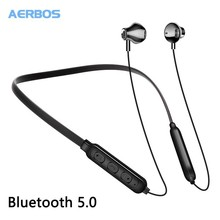 AERBOS Bluetooth 5.0 Headset Wireless Earphone With Microphone Volume Adjustable Wireless Headphone For Iphone Xiaomi цены онлайн