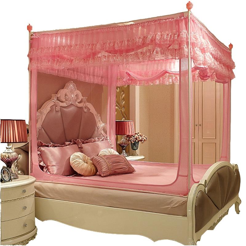 Para Adulto tente Berco Cama Enfant Moustiquaire Pour Lit Double rideau Mosquitera auvent Ciel De Lit Cibinlik Moustiquaire