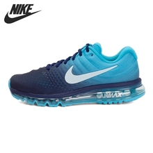 Nike Air Max полная ладонь подушка воздуха Мужская мягкая дышащая повседневная Беговая Уличная обувь, кроссовки #849559-001/402/404