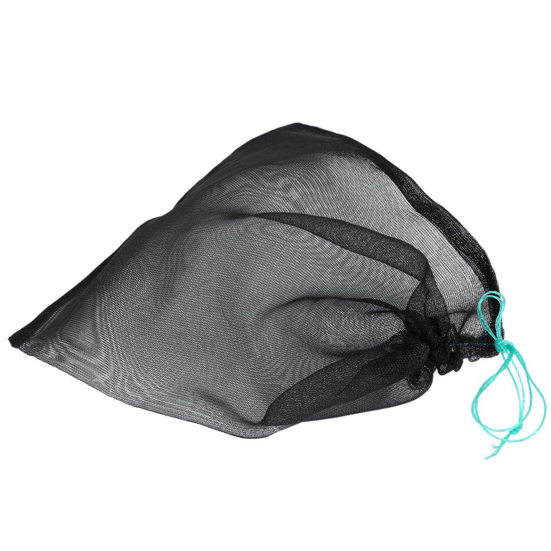 Hot-100Pcs Garden Vegetable Grape Dragon Fruit Protection Bag, Agricultural  Garden Vegetable Black Mesh Bag