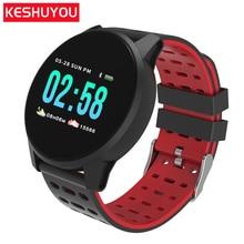W1 Смарт-часы браслет активность браслет Цвет ЖК-Смарт фитнес-браслет для Android/Ios Фитнес трекер группа крови Давление часы