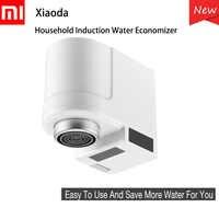 New Xiaomi Xiaoda Smart Sensor Faucets Infrared Sensor Automatic Water Saver Tap Anti-overflow Kitchen Bathroom Inductive Faucet