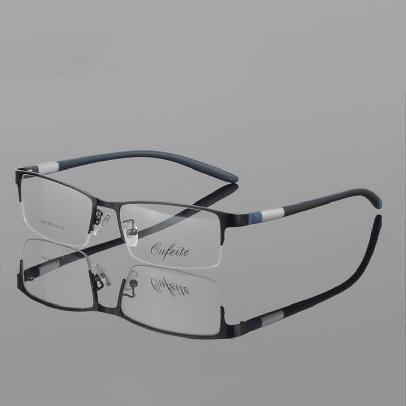 Fashion Eyeglasses For Men Optical Sports Glasses Frame Square Prescription Spectacles Half-rim Computer Luxury Myopia Eyewear