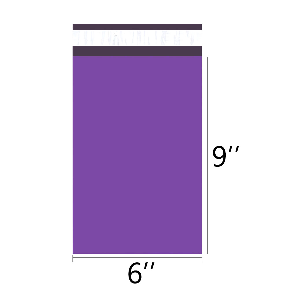 Image 3 - Speedy Mailers 100PCS 6x9inch 150*230mm Colorful Poly Mailer Purple Poly Mailer Self Seal Plastic Shipping Envelope BagsPaper Envelopes   -