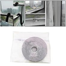 New 4m Universal Air Lock Window Seal Cloth Waterproof Home Mobile Air Conditioners Water-Repellent Dryer