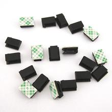 Wire Fixing Clips Car Vehicle Data Cord Cable Tie Mount Wires Fixing Clips Self-adhesive Wire Clip Auto Accessories