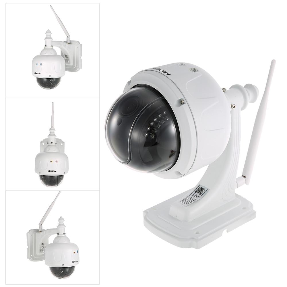 KKmoon 1080 1080P 2.0MP ワイヤレス WIFI ドーム PTZ HD IP カメラ屋外 5X 光学ズームオートフォーカスレンズナイトビジョンホームセキュリティ用  グループ上の セキュリティ & プロテクション からの 監視カメラ の中 1