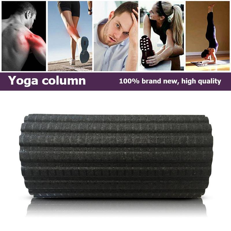 Yoga de Remise En Forme Électrique Colonne Vibrations Massage Rouleau Mousse Pilates Réglable Bloc Masseur Soulager La Fatigue Musculaire