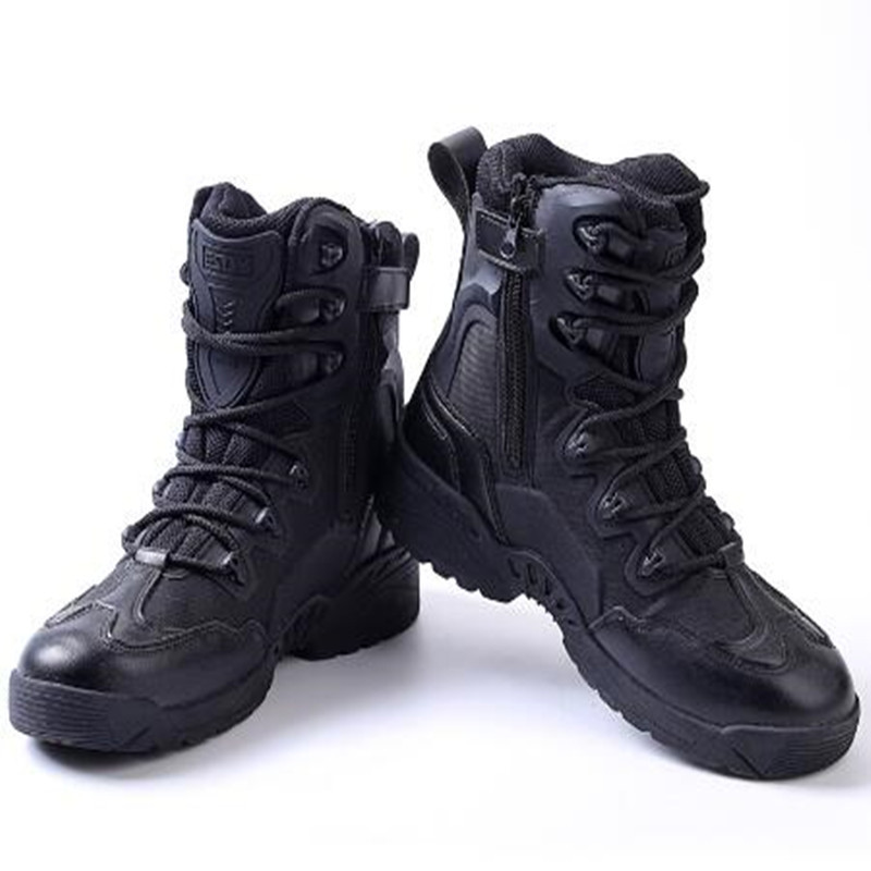 Tactical-Boots High-Shoes Military Hiking Outdoor Climbing Shooting Wearproof Training