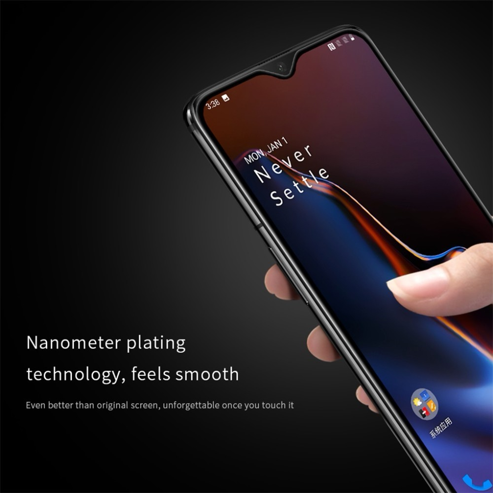 Image 4 - for Oneplus 7T Tempered Glass for Oneplus 6T / 7 Screen Protector Nillkin XD CP+MAX Anti Glare Protective film For One plus 7 7T-in Phone Screen Protectors from Cellphones & Telecommunications on