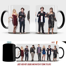 The Big Bang Theory Mugs Change Color Magic Mug Color Changing Mugs Coffee Tea Cup Best Gift for Your Friends baldr earth mark cup tetris the heat change thermal color mugs