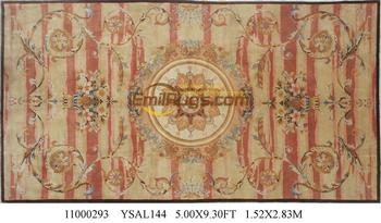 Top Fashion Tapete Details About 5' X 9.3' Hand-knotted Thick Plush Savonnerie Rug Carpet Made To Order ysal144gc88savyg2 фото