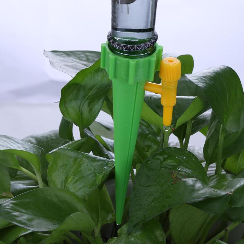 Auto Drip Irrigation Watering System Automatic Watering Spike for Plants Flower Indoor Household Waterers Bottle Drip Auto Drip Irrigation Watering System Automatic Watering Spike for Plants Flower Indoor Household Waterers Bottle Drip Irrigation