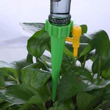 Auto Drip Irrigation Watering System Automatic Watering Spike for Plants Flower Indoor Household Waterers Bottle Drip Irrigation(China)