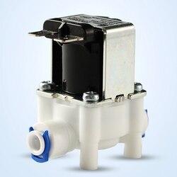 24V 1/4 Cal urządzenie oczyszczające wodę poprzez odwróconą osmozę wlot zawór elektromagnetyczny wody 2 zawór elektromagnetyczny dla ro odwróconej osmozy czysta System w Części do filtra wody od AGD na