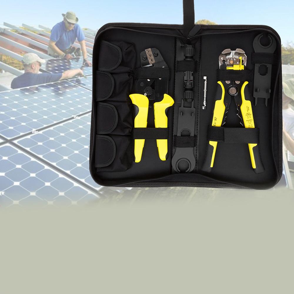 14-10AWG MC4 connecteur solaire pince à sertir pince à dénuder outil de sertissage