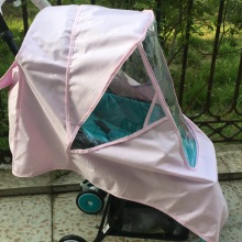 Universal Baby Stroller Rain Cover Wind Shield Umbrella Car Buggy Waterproof Raincoat Winter Accessories for