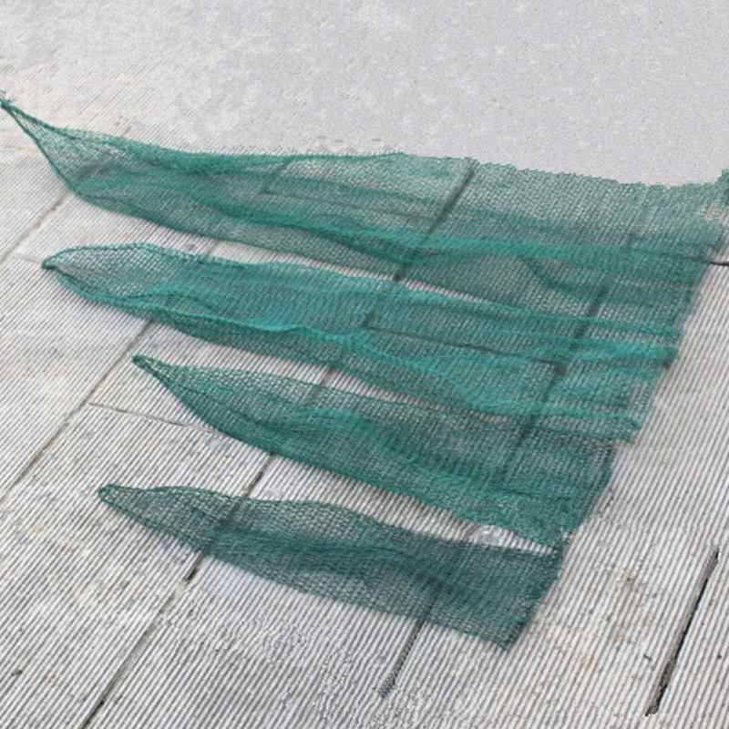 Rede de pesca malha saco de peixe verde gaiola enfrentar pesca desembarque equipamento acessório ferramenta 50/70/120/150cm