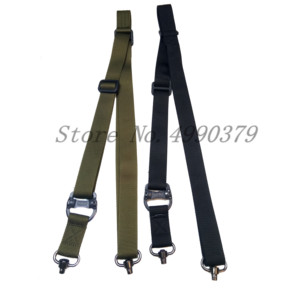 Image 3 - Tactical Hunting Gun Sling Adjustable 1 Single Point Bungee Rifle Sling Strap System New 3 Colors
