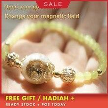 Orgonite Bracelet Tree Of Life Green Chalcedony Augen Energy Bracelet Austrian Bracelet Radiation Yoga Meditation