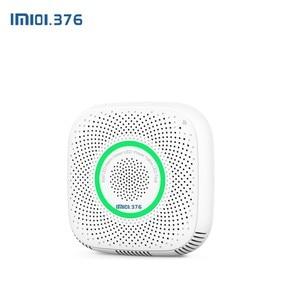 Image 2 - LM101.376 WiFi gaz lpg sızıntı alarmı ev güvenlik yüksek hassas dedektörü yangın sensörü cep telefon uzaktan kumandası