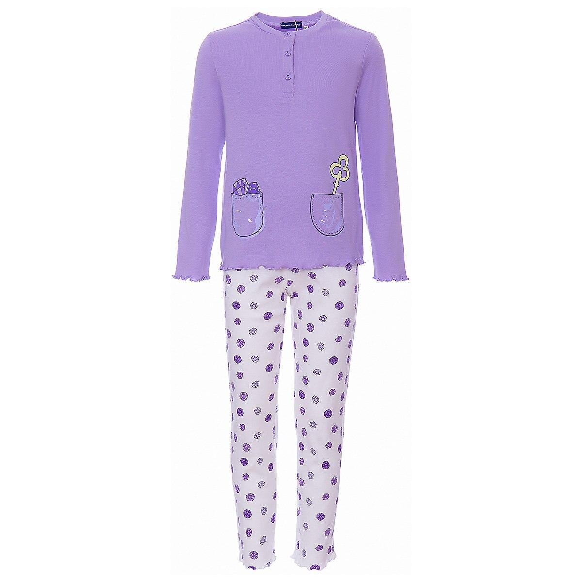 ORIGINAL MARINES Pajama Sets 9501094 Cotton Girls childrens clothing Sleepwear Robe parrot print cami pajama set with robe