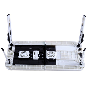 Image 5 - FUNN Laptop Desk Foldable Table e Table Bed USB Cooling Fans Stand TV Tray