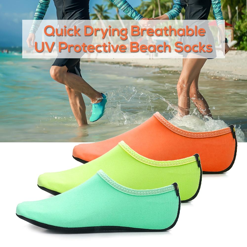 Intelligent Schnell Trocknend Strand Socken Männer Frauen Atmungsaktive Haut Schuhe Pool Schwimmen Aqua Tauchen Socken Surfen Yoga Barfuß Schuhe