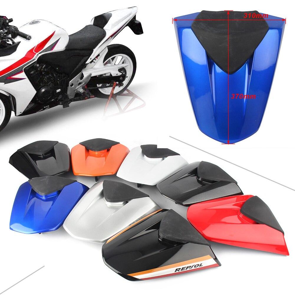 Carénage de capot de siège de passager arrière de moto pour Honda CBR500R CBR 500R 2013 2014 2015