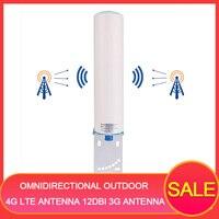 Всенаправленная наружная 4 г Lte Антенна 12dbi 3g антенна повторитель внешняя антенна 4 г наружная антенна N Женская Sma 10 м для huawei